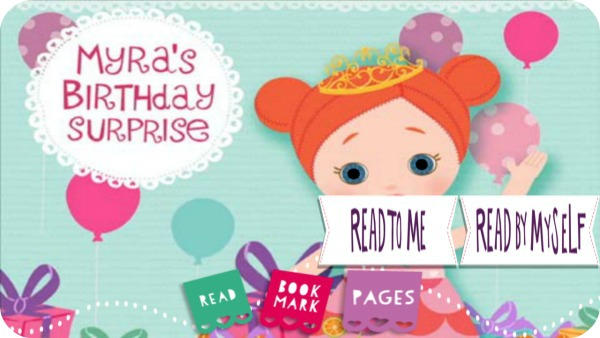 Mooshks: Myra's Birthday Surprise App