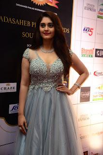 Actress Surbhi Puranik Stills at Dadasaheb Phalke Awards South 2019