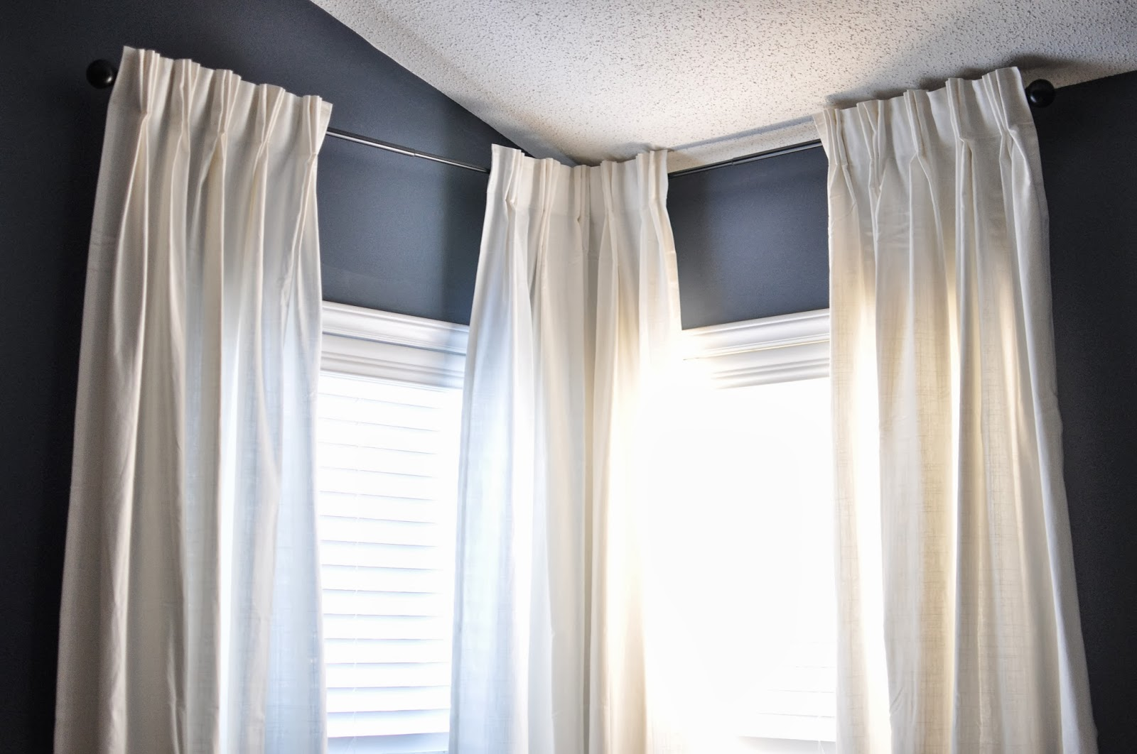 Not So Newlywed Mcgees Diy Custom French Pleat Curtains