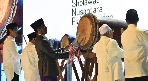 Panglima TNI Hadiri Pembukaan FSN 2018 di Sentul