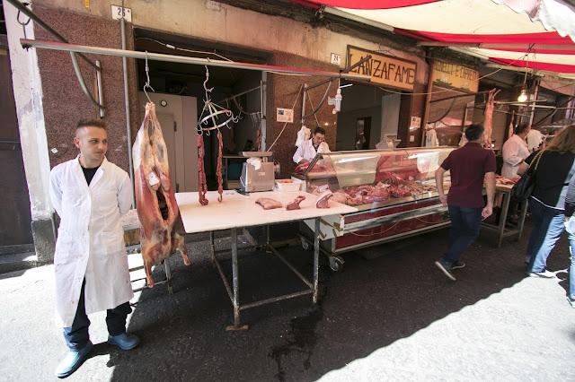 Mercato alimentare-Catania