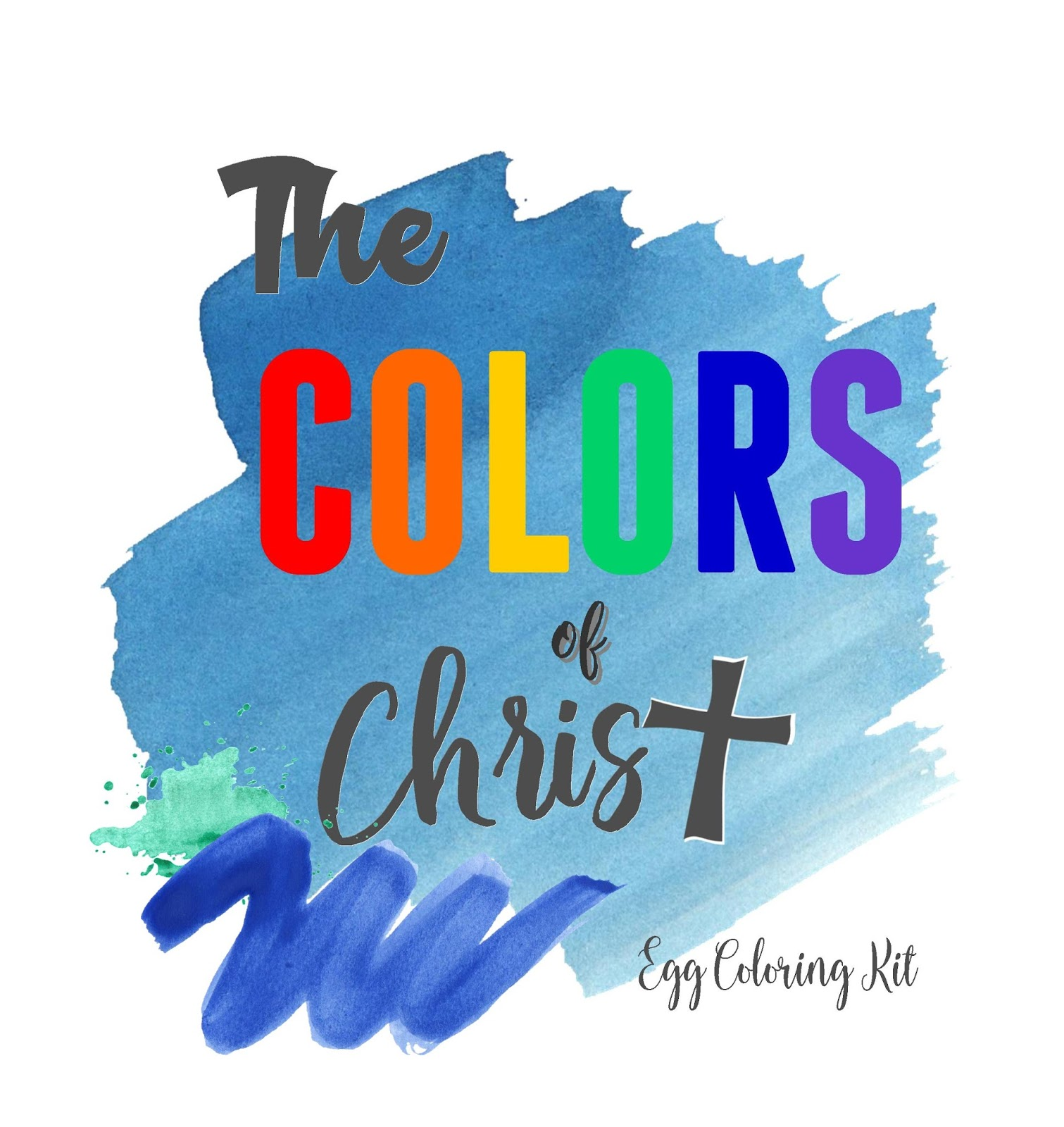 Colors of Christ Egg Coloring Kit