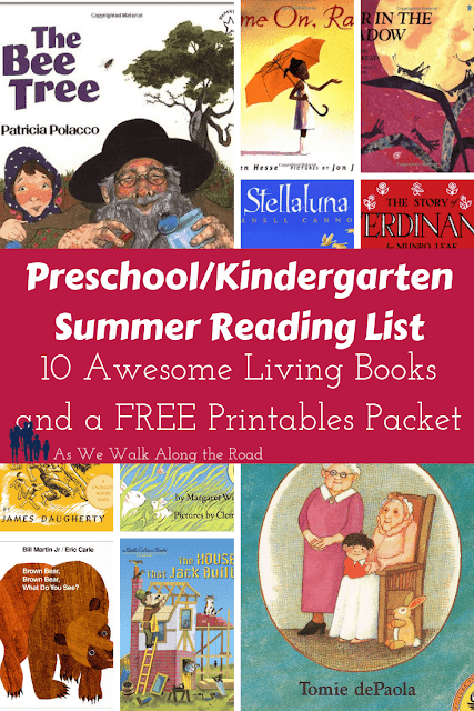 Preschool summer booklist