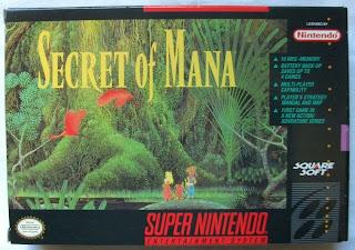 Secret of Mana - Caja delante
