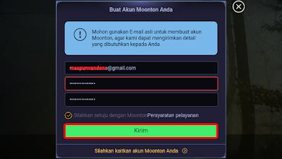 Cara Daftar Akun Moonton Terbaru 2018