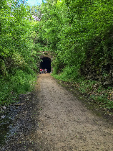 Stewart Tunnel on the Badger State Trail / Ice Age Trail Monticello Segment
