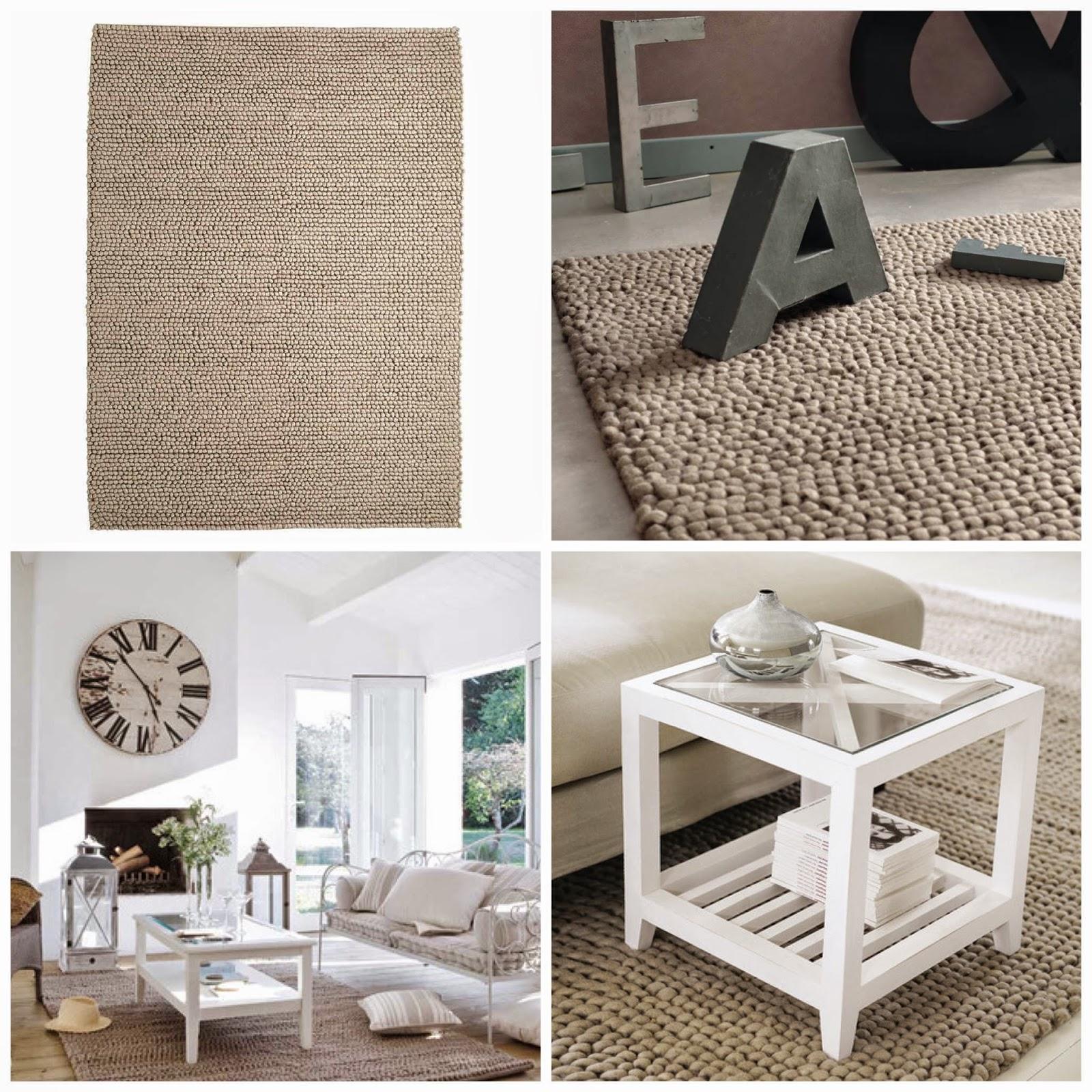 decoración de salón alfombras