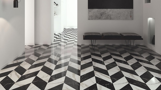 Tiles decoration ideas of Trendy series
