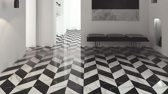Tiles decoration ideas ofTrendy series