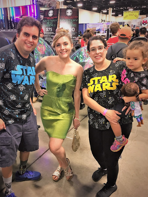 Looey, Tinker Bell, me, and Leia