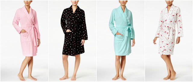Charter Club Fleece Short Robe $10 (reg $50)