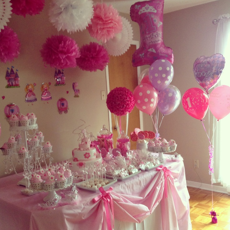 Birthday decorations at home total stylish for 1st birthday balloon decoration images
