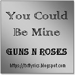You Could Be Mine   Guns N Roses