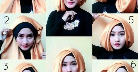 Tutorial Hijab Wisuda Simple Segi Empat Hijabfest