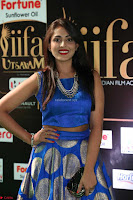 Madhu Shalini Looks Super Cute Slim trim Blue Choli Ghagra IIFA Utsavam Awards 035.JPG