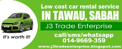 Tawau Car Rental 0149669359