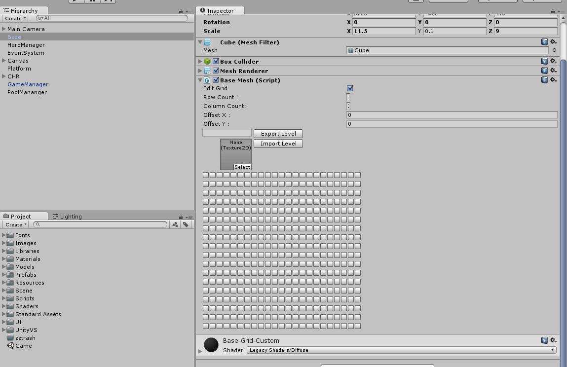 Advanced Unity-Editor extensions using Images : | CoreCoder