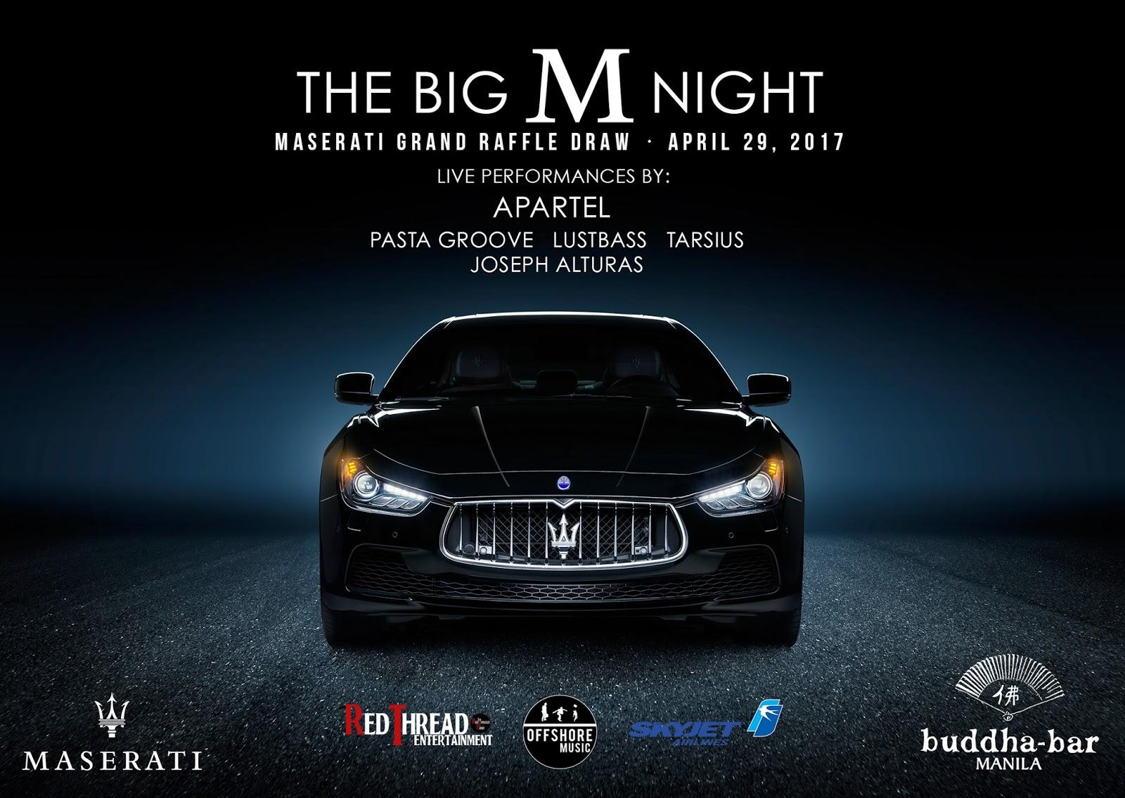Dine and Drive a Maserati