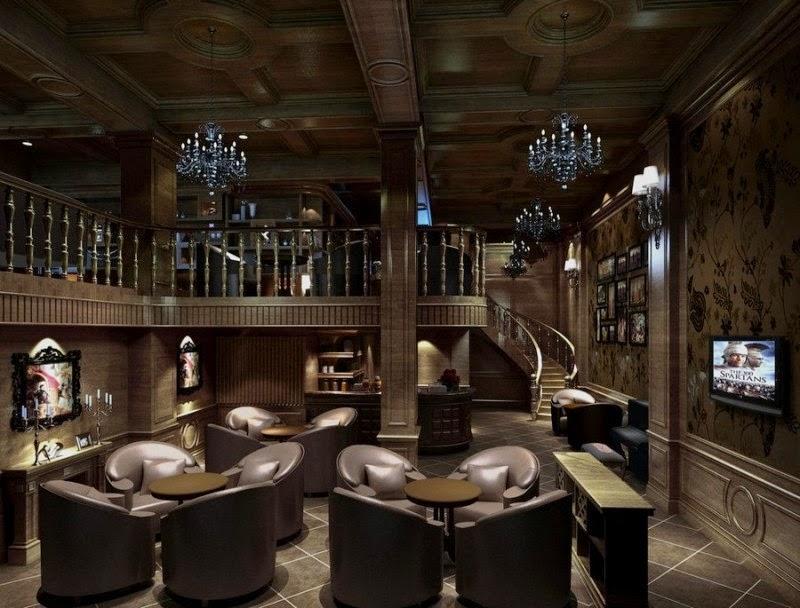 Modern Minimalist Interior Design For a Cafe - Home Design ...