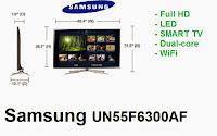 Samsung UN55F6300AF LED TV