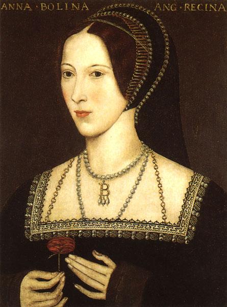 anne boleyn tudor portrait
