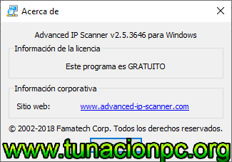 Descargar Advanced IP Scanner Gratis Full
