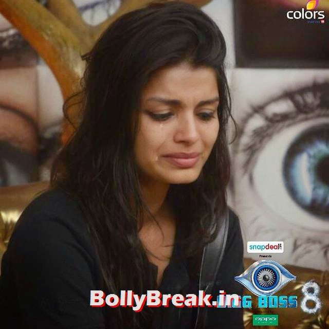 sonali raut, has been most affected in the task! -  teary-eyed & hurt, will she walk out   i its sa a al ma an khan,, sonali raut bigg boss 8 Photos