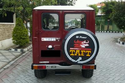Eksterior Daihatsu Taft Kebo / Badak Tampak Belakang