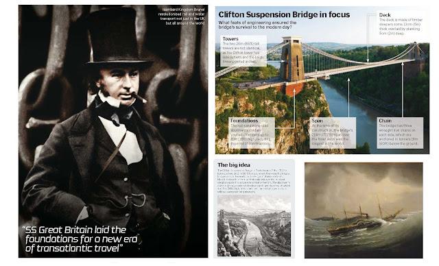 Isambard Kingdom Brunel, Brunel Trivia
