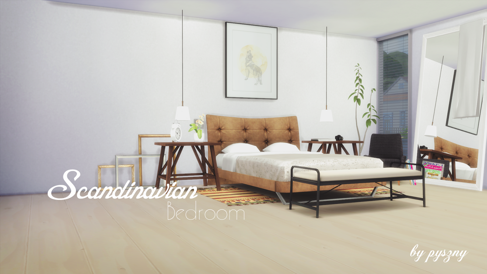 28 Scandinavian Bedroom Furniture My Sims 4 Blog