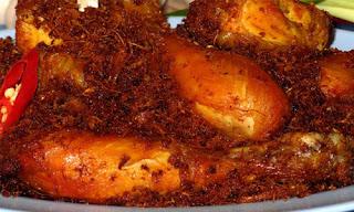 Resep Ayam Goreng Lengkuas
