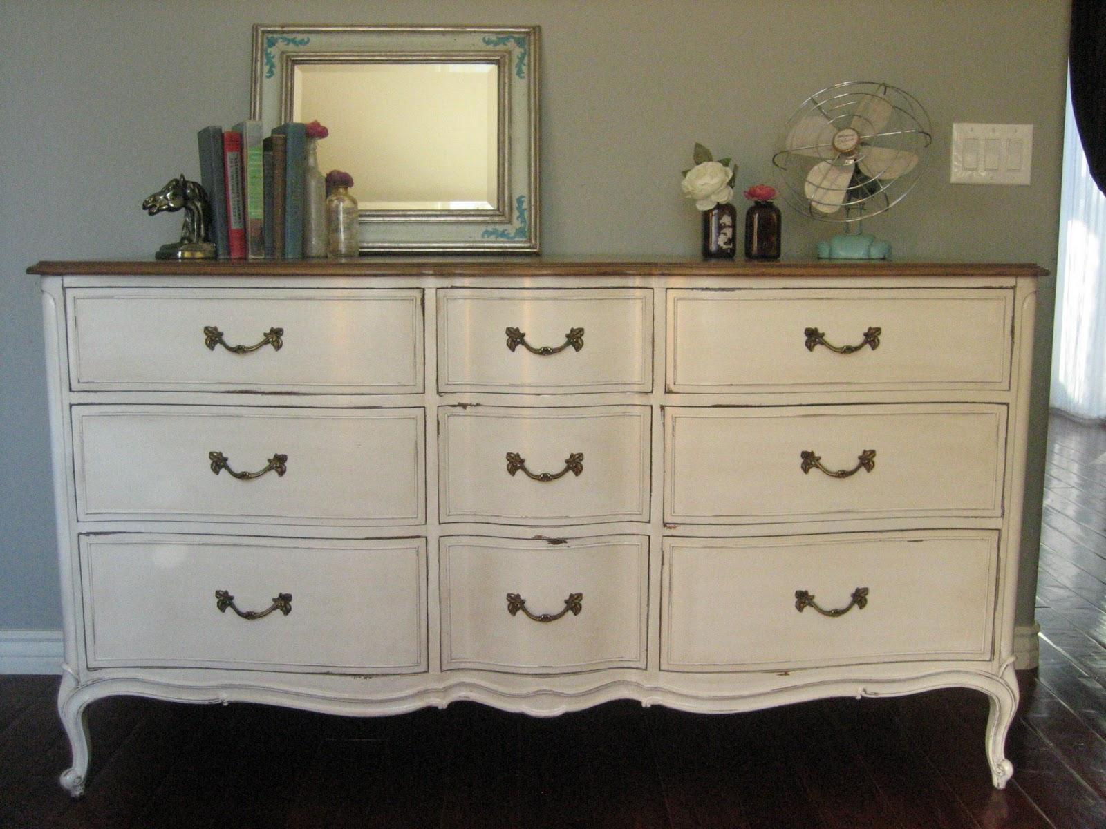 Bowed French Dresser