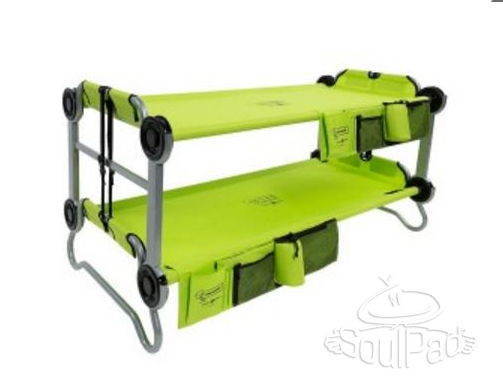 Christmas Gift Ideas for families who love Camping - Soulpad bunk beds for kids