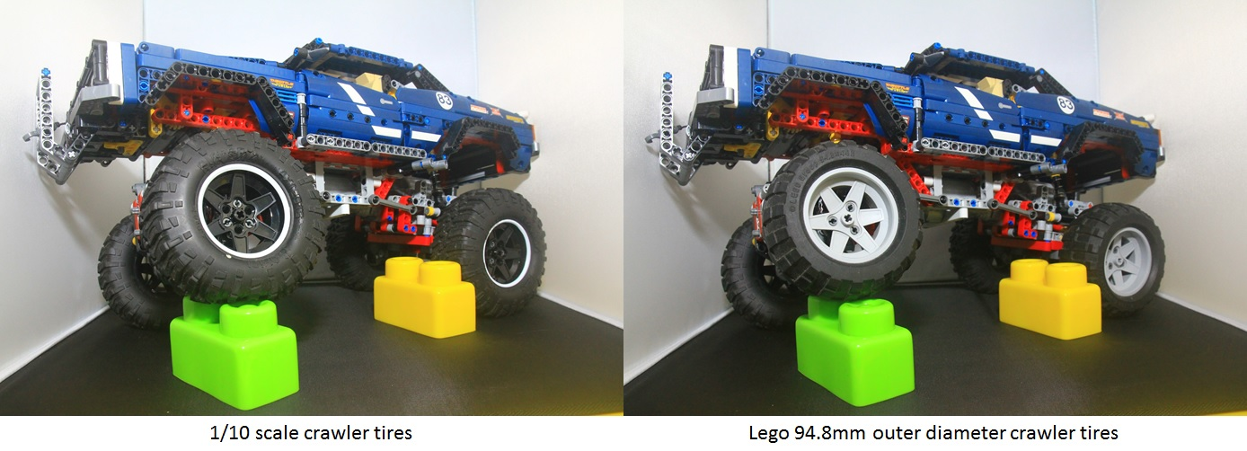 Lego 41999 4x4 Crawler Modification To Increase Torque And Crawling