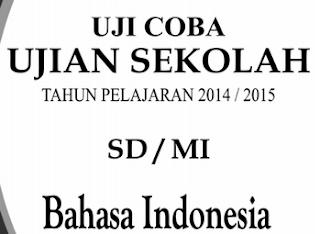 Soal Uji Coba UN SD Tahun Pelajaran 2014/2015 Mata Pelajaran Bahasa Indonesia
