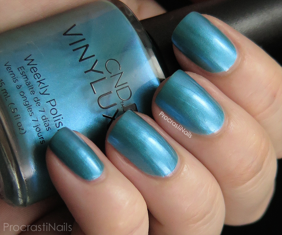 Swatch of Lost Labyrinth from the CND Vinylux Garden Muse Collection