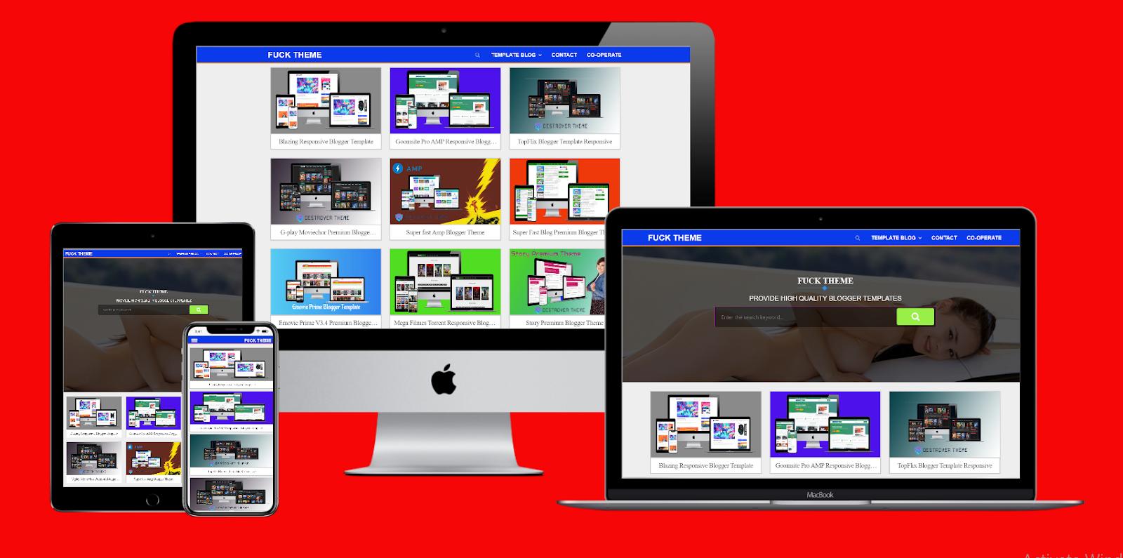 Premium Theme Store Blogger Theme