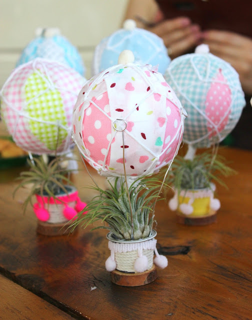 Craft Party with Airplants and Air Balloons!!!