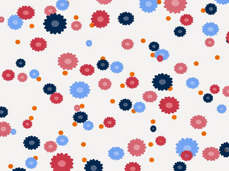Muster Blumen 2