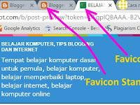 Cara Mengganti Logo Blog (Favicon) Di Atas Adress Bar Browser Dengan Icon Sendiri