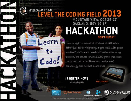 Level the Coding Field 2013