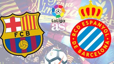 بث مباشر مشاهدة مباراة برشلونة وإسبانيول اليوم