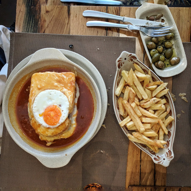 Francesinha Sandwich at Porto's Brasao Aliados, photo credit: Lindsey Viscomi