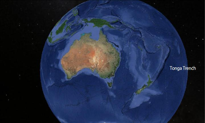 Tonga Trench the 2nd Deepest Place on Earth All Five Oceans