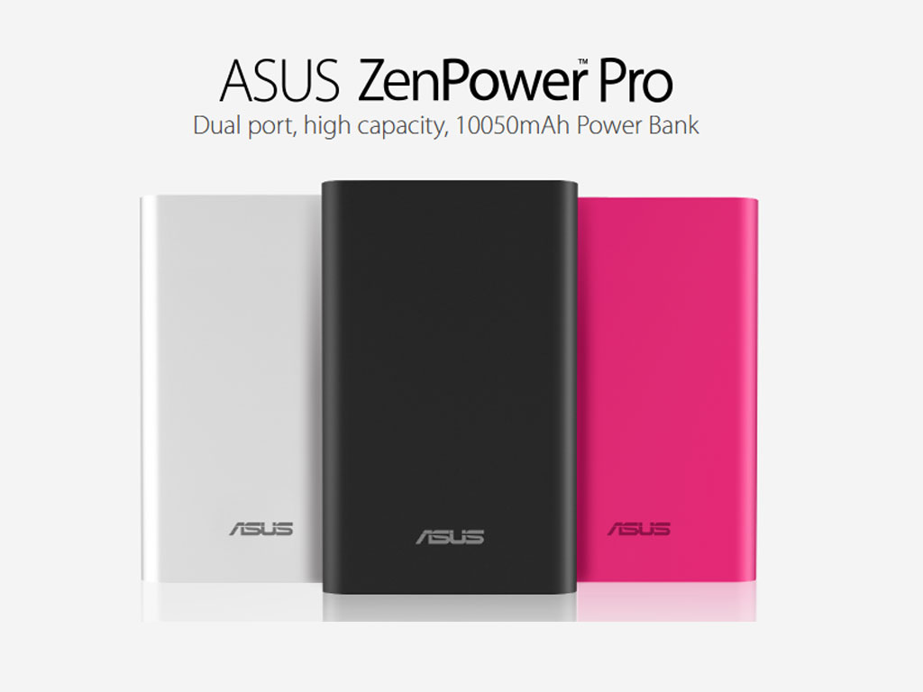 ASUS ZenPower Pro three color variants