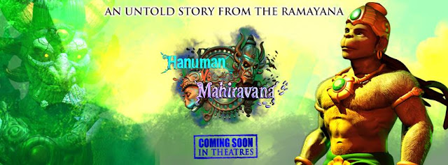 'Hanuman vs Mahiravana' Movie Premier in 3D on Pogo Tv Channel Wiki,Characters
