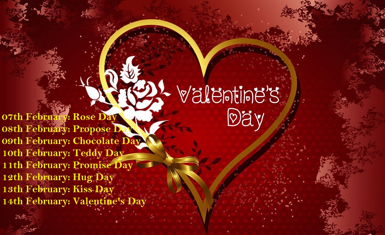 Image result for valentine week 2018