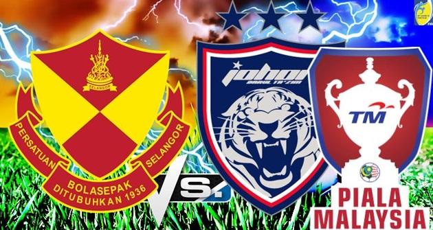 Live Streaming Selangor vs JDT Piala Malaysia 18 julai 2017