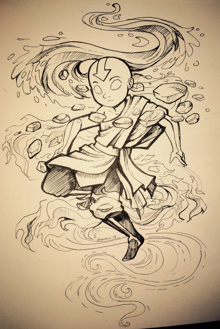 16-Aang-Avater-the-Last-Airbender-Rachel-Sharp-sharkie19-Fan-Art-Drawings-and-Illustrations-www-designstack-co