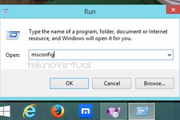 Cara Disable Auto StarUp Program Windows
